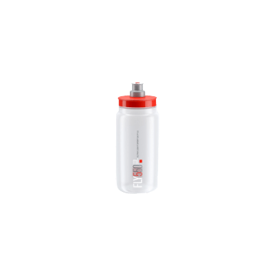 ELITE Bidon Fly Clear 2018 Red 550ml