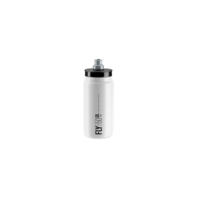 ELITE Bidon Fly White 2018 Grey 550ml