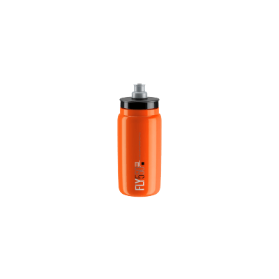 ELITE Bidon Fly Orange 2018 Black 550ml