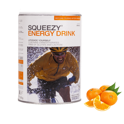 Squeezy Energy Drink 2kg Orange