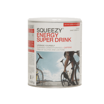 Squeezy Energy Super Drink GRAPEFRUIT 400g.