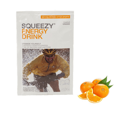 Squeezy ENERGY DRINK orange 500g.