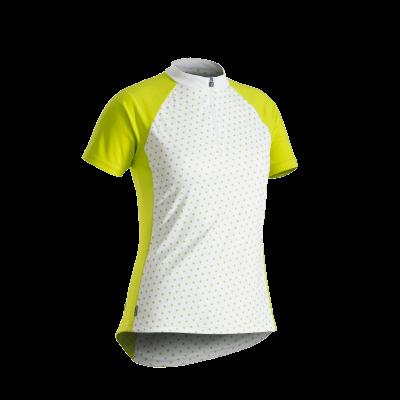 Koszulka damska Bontrager Solstice biała/Volt