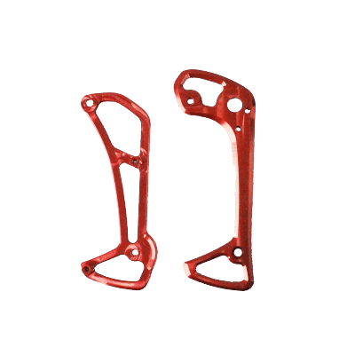 Wózek przerzutki GARBARUK XT8000/XTR9000 czerwony