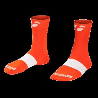 Skarpetki Bontrager Race 6 cm M (40-42) pomarańczowo-czerwone