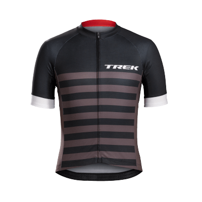 Koszulka Bontrager Specter czarne paski logo Trek