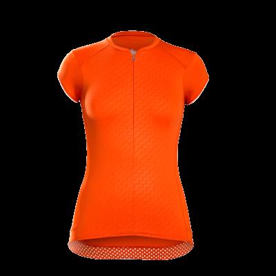 Koszulka damska Bontrager Vella pomarańczowo-czerwona