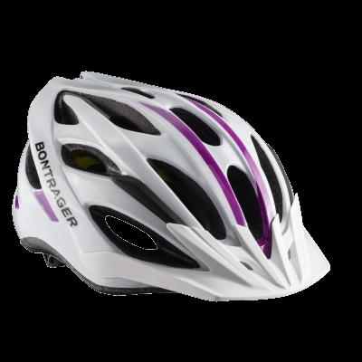 Kask damski Bontrager Solstice MIPS Biały/purpurowy M/L CE