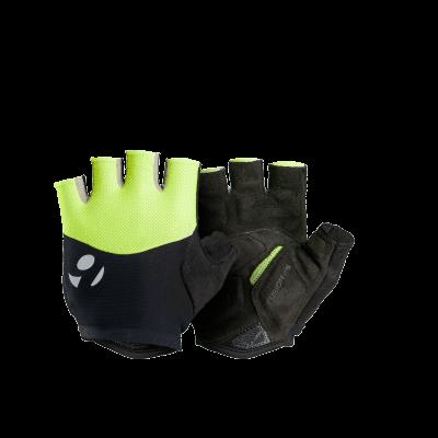 Rękawiczki Bontrager Halo Gel fluorescencyjny żółty