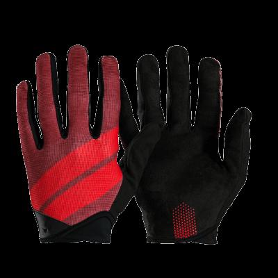 Rękawiczki Bontrager Rhythm L Czerwone