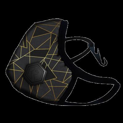 Maska DRAGON CASUAL II LAVA M