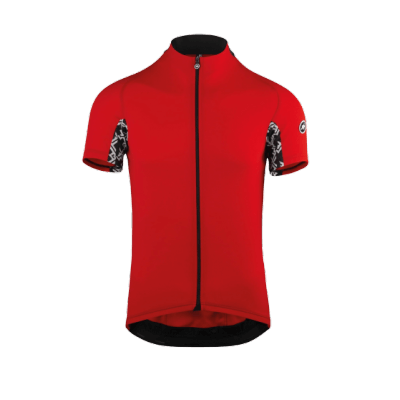 Assos MILLE GT Short Sleeve Jersey National Red rozm. M