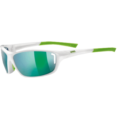Okulary UVEX Sportstyle 210 white green