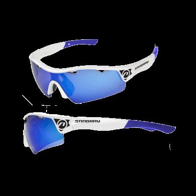 Okulary STINGRAY biało-niebiewskie