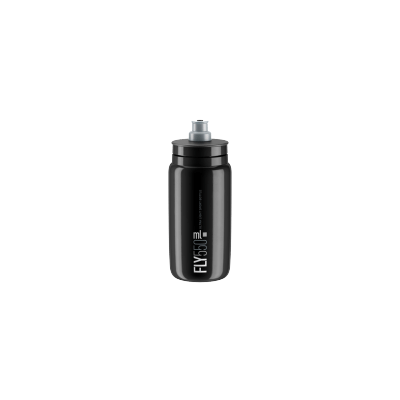ELITE Bidon Fly Black 2018 Grey 550ml