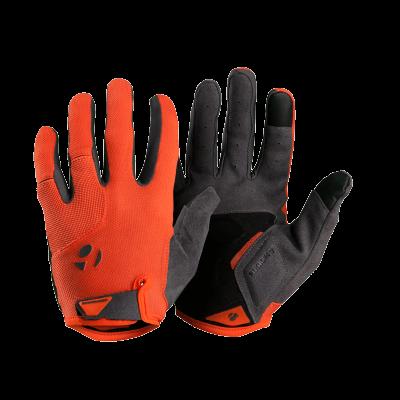 Rękawiczki Bontrager Evoke pomarańczowo-czerwone