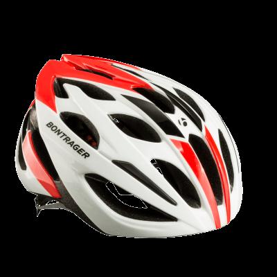 Kask Bontrager Starvos M czerwony/biały