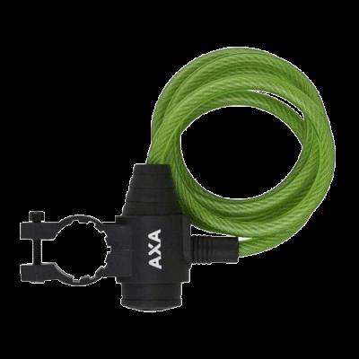 Zapięcie rowerowe AXA ZIPP 120cm/8mm Zielone